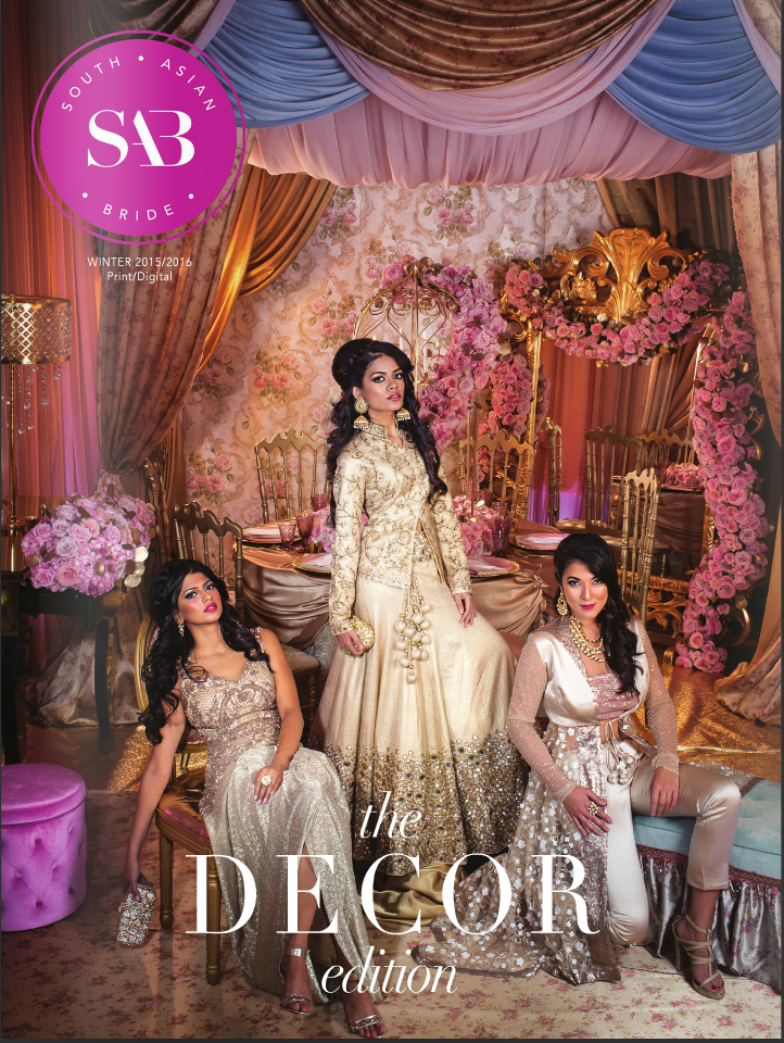 Wedding Elegance By Nahid featured in South Asian Bride Magazine