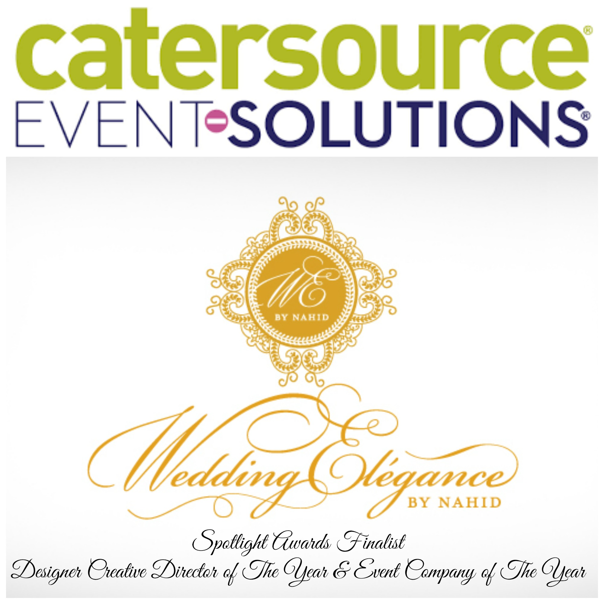 Nahid Farhoud is a finalist in the Catersource Event Solutions Spotlight Awards
